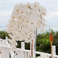 Real touch latex Wedding artificial orchid flower
