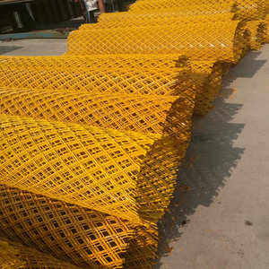 customized size PVC coated 4 mm thick expanded metal mesh