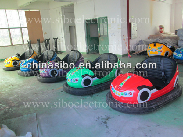 2015 amusement park games kids bumper car electric kids cars 24v