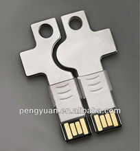 2013 New design lovers double usb key gift for promotion