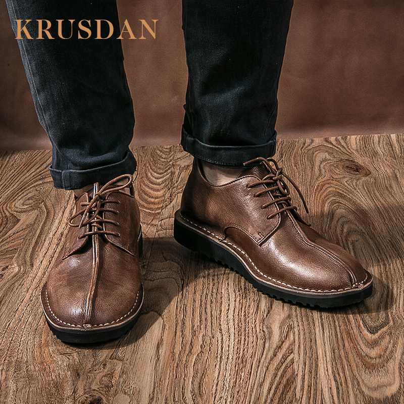 genuine men shoes leather China with casual mens Guangzhou footwear X0ptqq