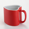 Valentines gift glazing red ceramic love mug for lovers