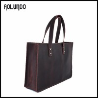 Elegance Real Leather Quilted Tote Bag Wholesale