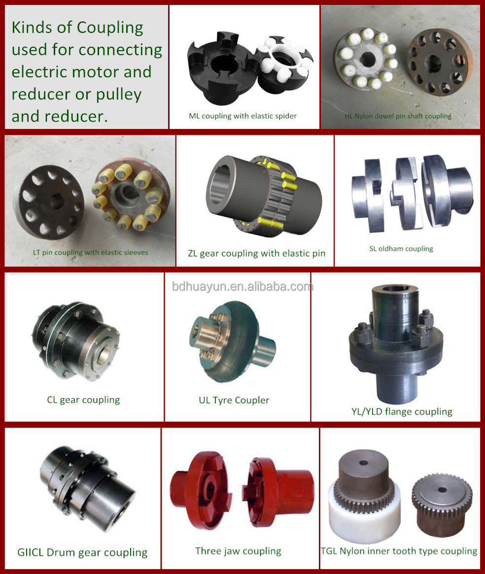 electric motor shaft types