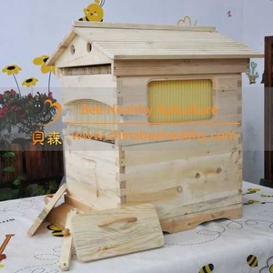 Auto outflow honey beehive,flow beehive for beekeeping