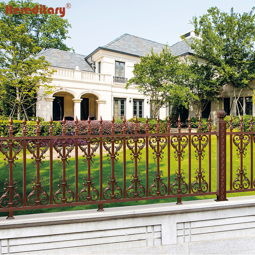 Prefab Temporary Solid Metal Pool Fence Panels On Wall - Buy Metal Garden  Fence Panels,Prefab Iron Fence Panels,Decorative Fence For Villa Product on