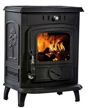 LF fashion winter wood burning fire stove heating stove for family