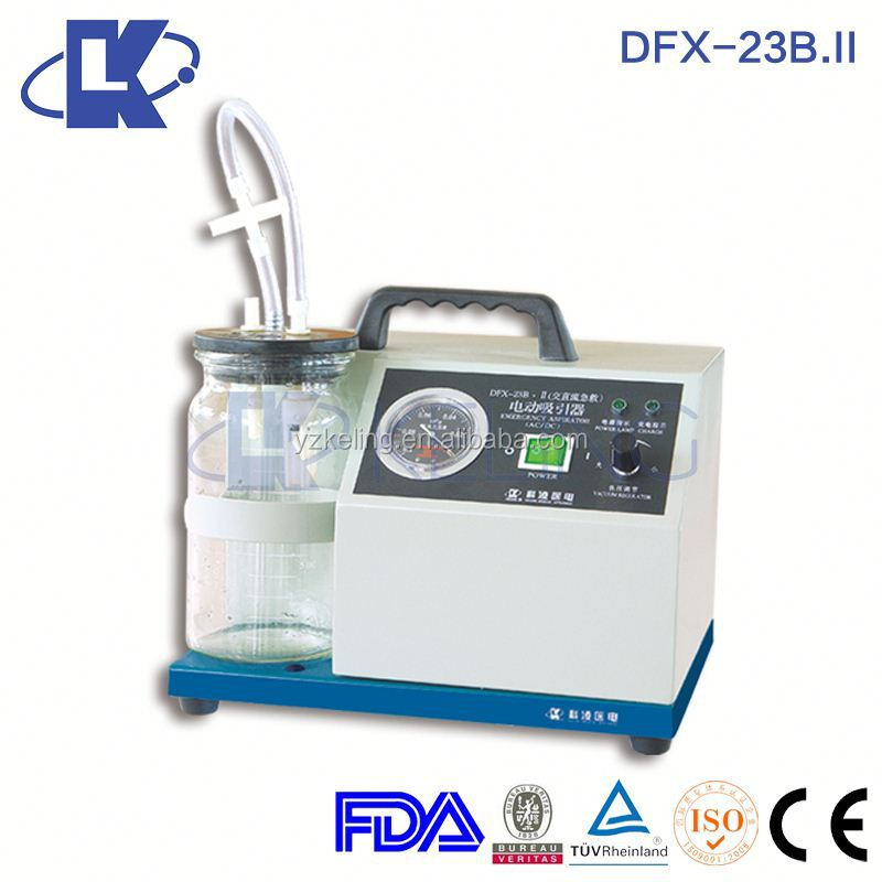 DFX-23B.II Battery Vacuum Suction Machine continuous operation