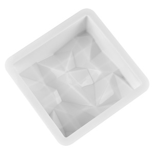 small size diamond 3D Mousse Cake Moulds silicone form for cake