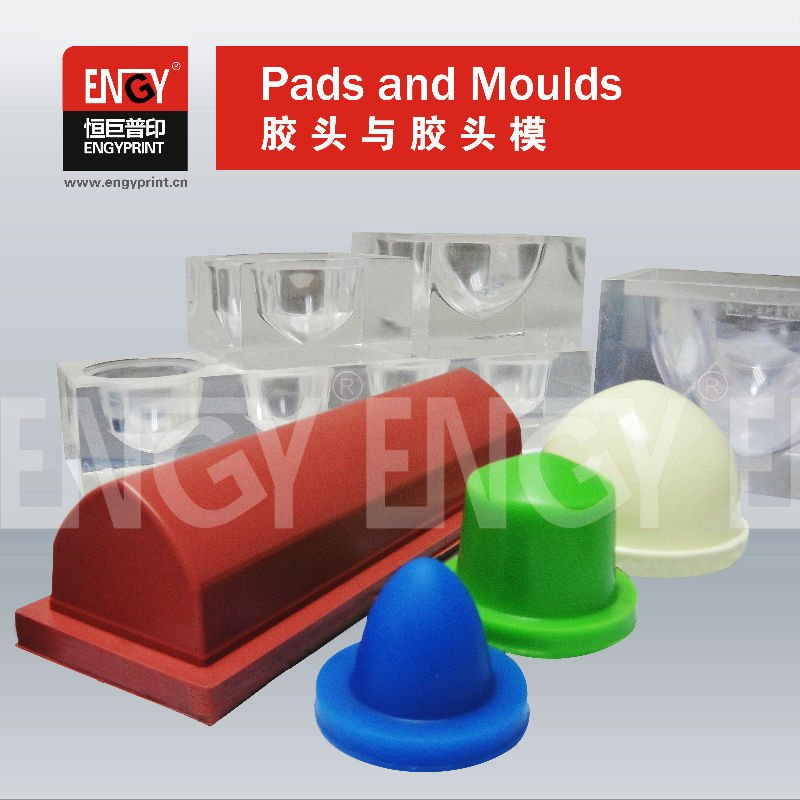 Silicone Rubber Pad for Pad Printing Machines