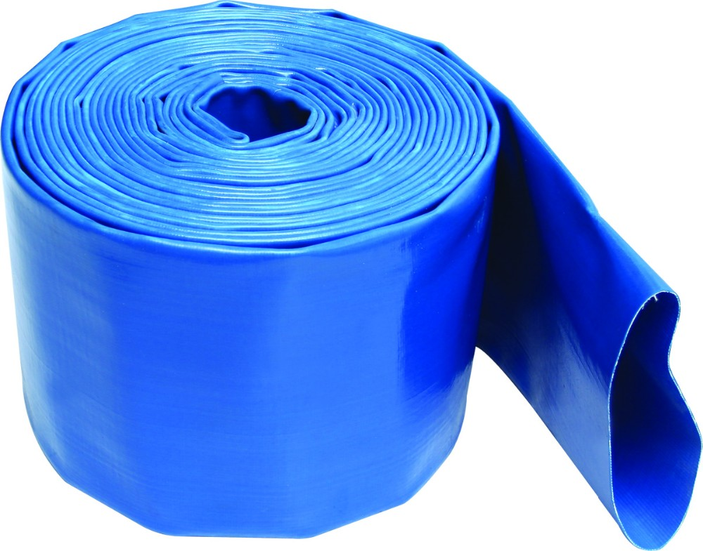Layflat PVC Water Delivery Hose Discharge Pipe Pump Lay Flat Irrigation