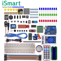 ROHS Compatible UNO R3 Starter Kit Electronics Kits with plastic box robotics kit for school kids educational