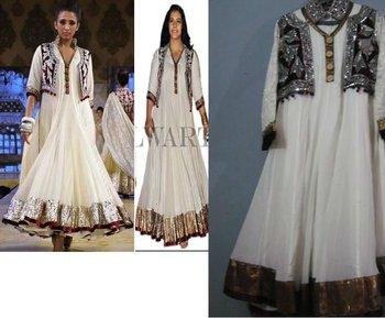 Kajol Design Suit With Koti Buy Kajol Product On Alibabacom