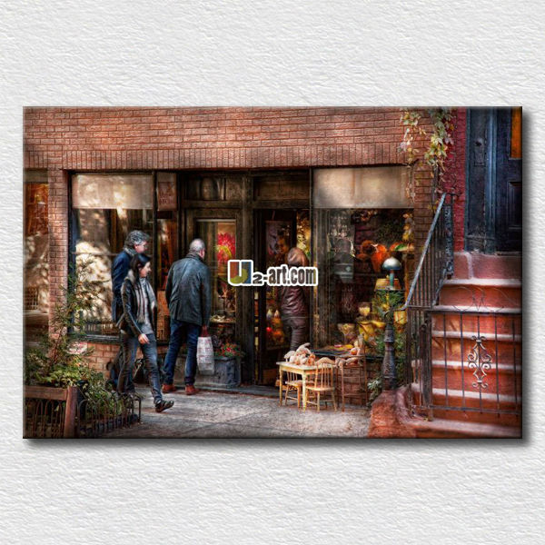 Modern wall art oil painting reproduction