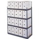 Medium Duty Office Record Storage Shelving/Rivet record Shelving/Rivet Shelving