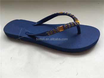 4cdada745 New Design Women Soft Rubber Flip Flop Ladies Fancy Slippers - Buy ...
