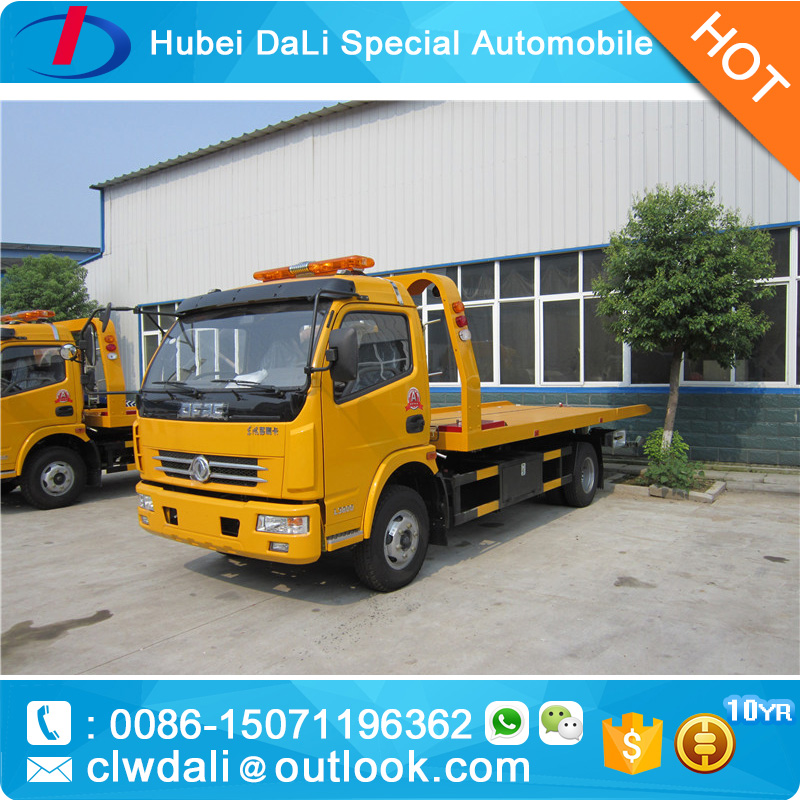 manufactory direct sell 4X2 one tow two Road Wrecker Towing Truck