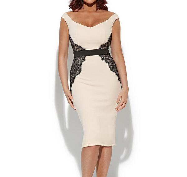 3bd75736051e Get Quotations · Bodycon Dress Vintage Sexy Lace Deep V Neck Elegant Lady  Vestidos Women Clothes Summer Autumn Party