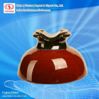 Pin Type ANSI 55-5 25kV High Voltage Porcelain Insulator