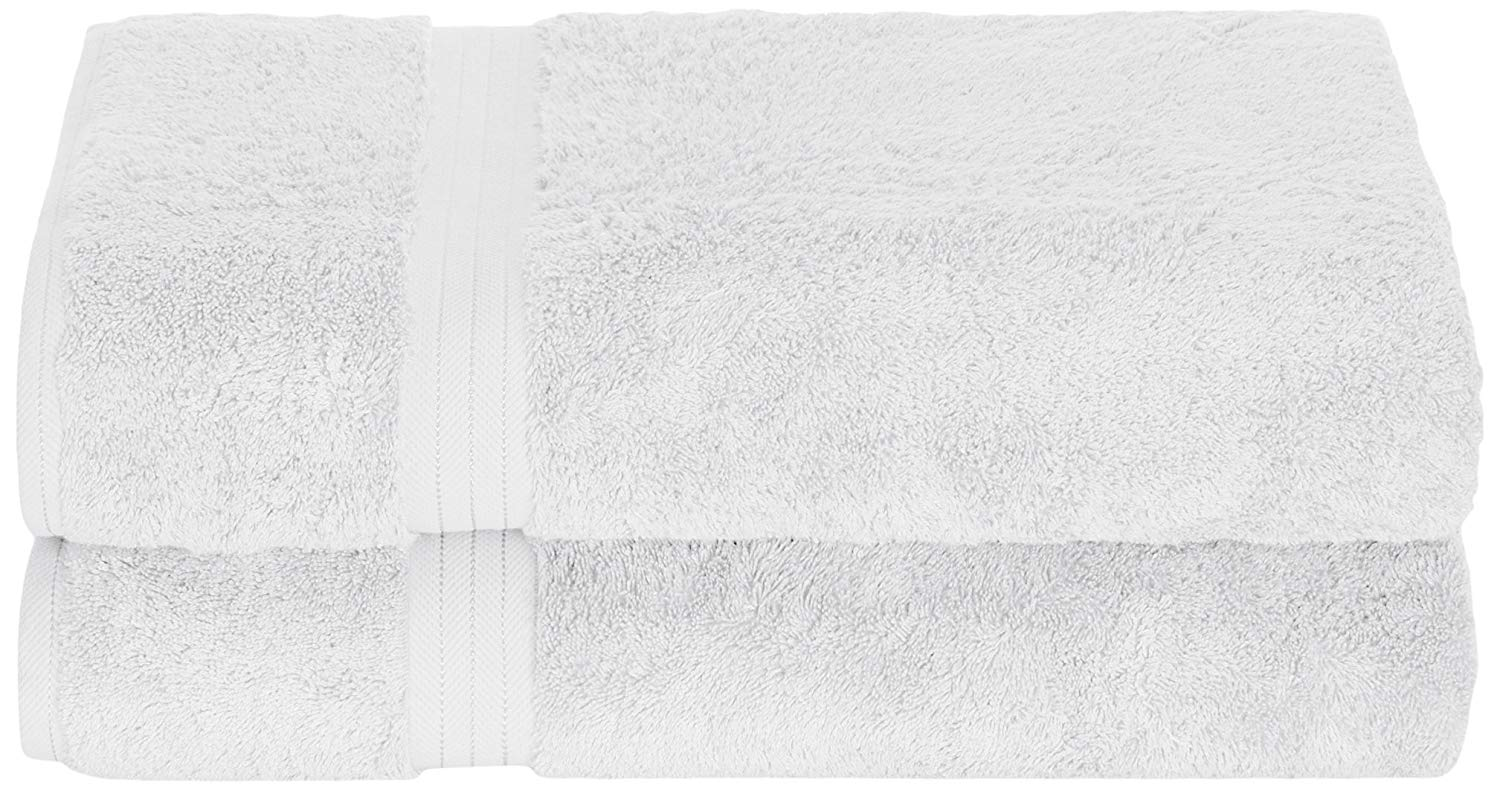 Daisy House 2 Piece Rayon Derived from Bamboo Sheets, White