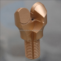 male thread M14 cut piece PDC anchor shank drill bit roof bolt bit