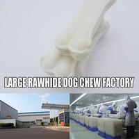 100% pure bleached rawhide dog chew bleached rawhide pet chew 100% Chicken Fillet - food and Banana Dog snacks