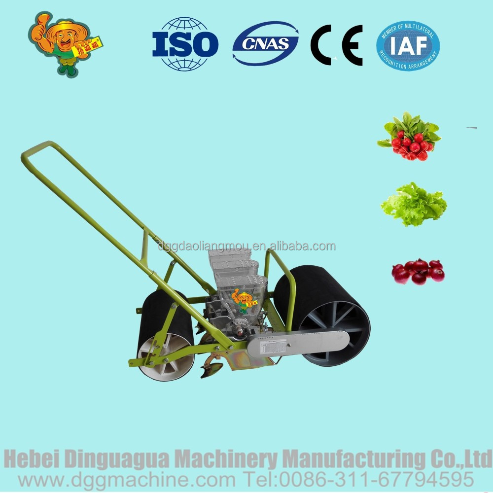 Hand Push Garden Seeder For Vegetables Onion Grass Seed Planter