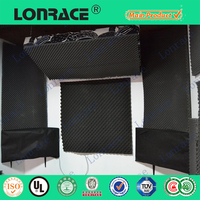 Soundproofing materials acoustic foam panel for sale