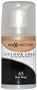 Women Max Factor Colour Adapt Skin Tone Adapting Makeup - # 65 Rose Biege Make Up 34 ml 1 pcs sku# 1758310MA