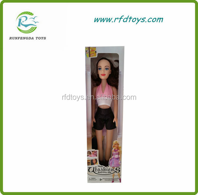 Beautiful fashion barbie doll toy for children toy doll