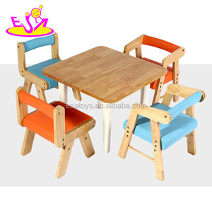 2016 new design baby wooden study desk., fashion kids wooden study desk, popular children wooden study desk W08G179
