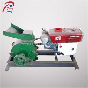 Diesel Engine 200*500 Mini Laboratory Hammer Mill for Sale
