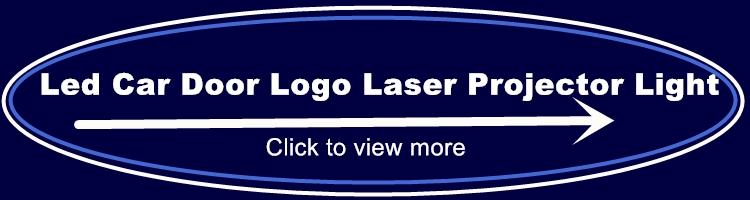 Car Laser Door Logo Projector Lights DIY