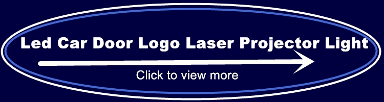Car Logo Led Under Door Welcome Light for CT6 XT5 XTS SRX ATS