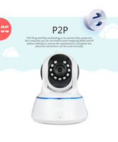 Easy install motion detaction wireless security camera two-way audio p2p wifi camera for application in indoor BS-IP24