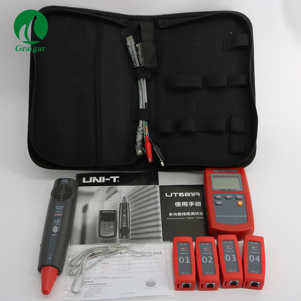 New UNI-T UT681A Factory Price Multi-Function Portable Network Line Tester