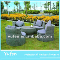 All-weather rattan lowes resin wicker outdoor patio furniture for sale