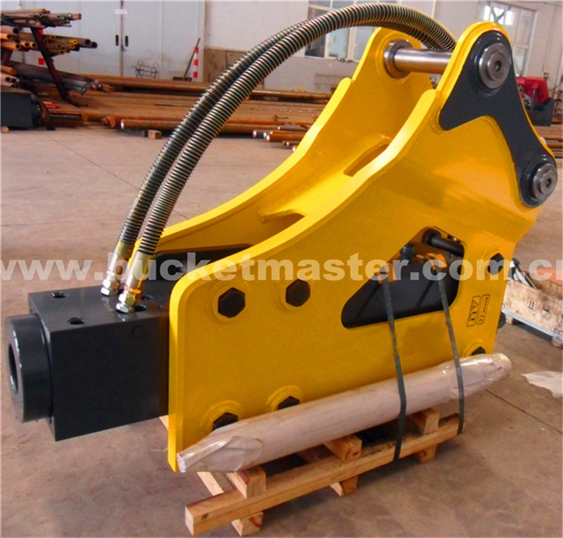 RSBM Adoption of advanced international technology 11-16t excavator original hydraulic rock breaker for sale side type
