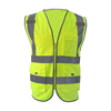 Best Selling Popular High quality cheap custom wholesale red safety vest