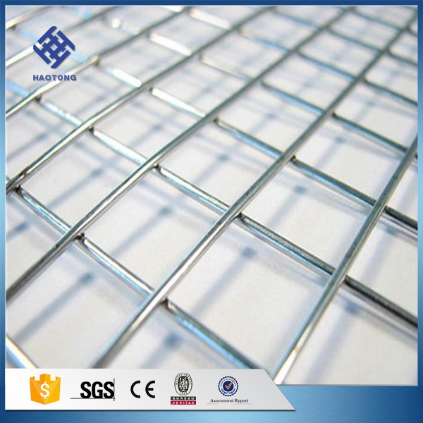 30 Years' factory supply powder coated galvanized welded wire mesh panel