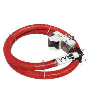 Flexible hose pipe auger screw elevating grain conveyor for sale