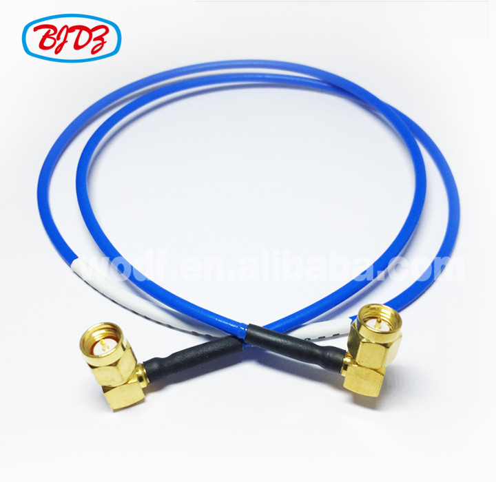 RF Coaxial cable kit SMA Male right angle to SMA Male r_a for SS405 cable assembly High intermodulation test component
