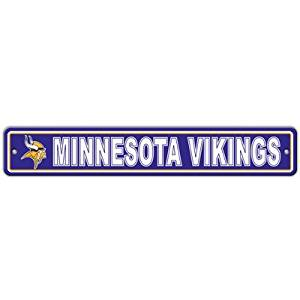 NFL Street Sign [Set of 2] NFL Team: Minnesota Vikings
