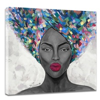 Cheap wholesale handmade abstract wall art african women oil paintings girls sexy photo hd nude pop art on canvas