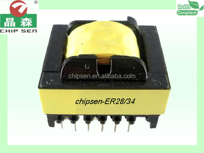 ER2834(6+6) horizontal four slot skeleton type toroidal current transformer