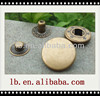 hot sale wholesale colorful white/silver..fashion plastic/metal open top big/small brass snap buttons