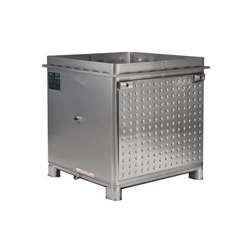 Food grade square stainless steel tank container ibc tote for sale