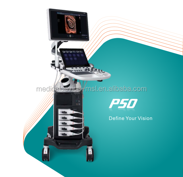 Articulated Arm Ultrasound : P sonoscape ultrasound with led monitor and articulated