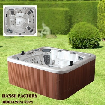 Hs 592y outdoor freestanding 5 person jet whirlpool sex - Soft tube whirlpool ...
