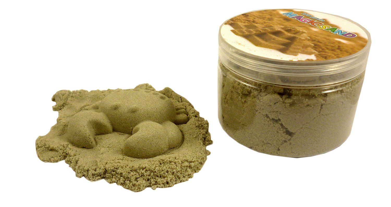 Magic Sand Refill - 250g- SAND COLOUR - Play Sand With No Mess! - Sculpture, ...